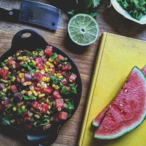 Watermelon Corn Salsa